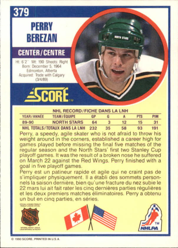 1990-91-Score-Canadian-Hockey-Cards-263-440-Pick-From-List miniature 225