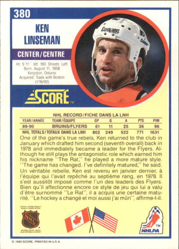 1990-91-Score-Canadian-Hockey-Cards-263-440-Pick-From-List miniature 227