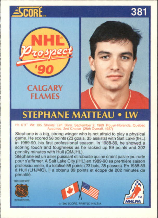1990-91-Score-Canadian-Hockey-Cards-263-440-Pick-From-List miniature 229