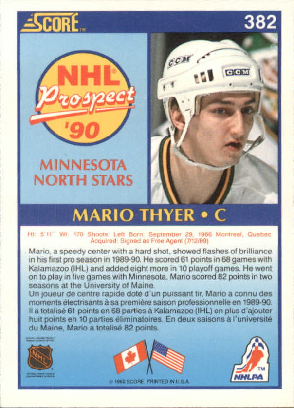 1990-91-Score-Canadian-Hockey-Cards-263-440-Pick-From-List miniature 231