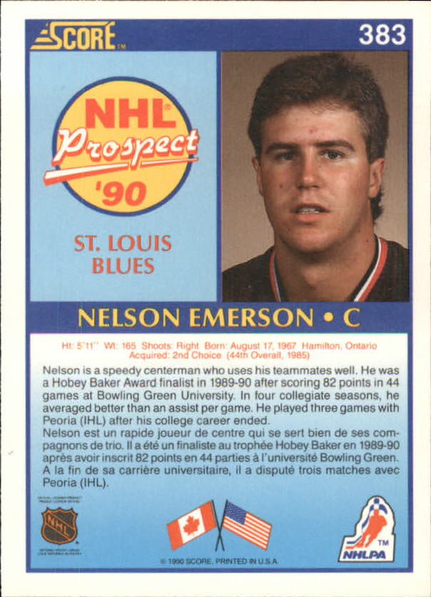 1990-91-Score-Canadian-Hockey-Cards-263-440-Pick-From-List miniature 233