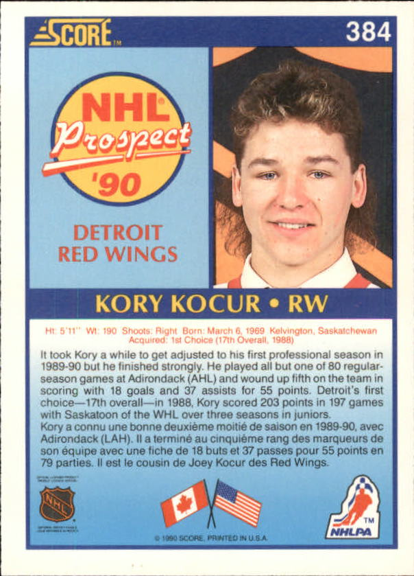 1990-91-Score-Canadian-Hockey-Cards-263-440-Pick-From-List miniature 235