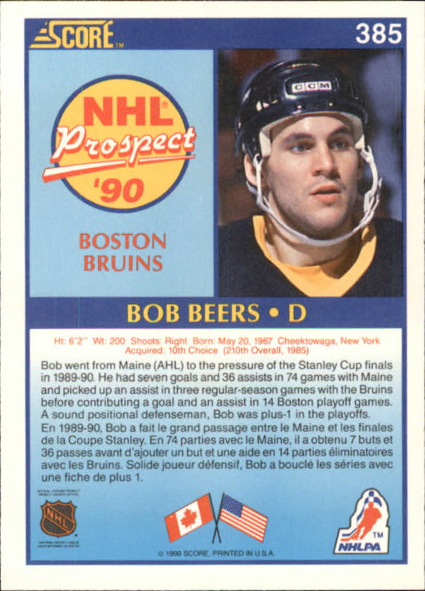 1990-91-Score-Canadian-Hockey-Cards-263-440-Pick-From-List miniature 237