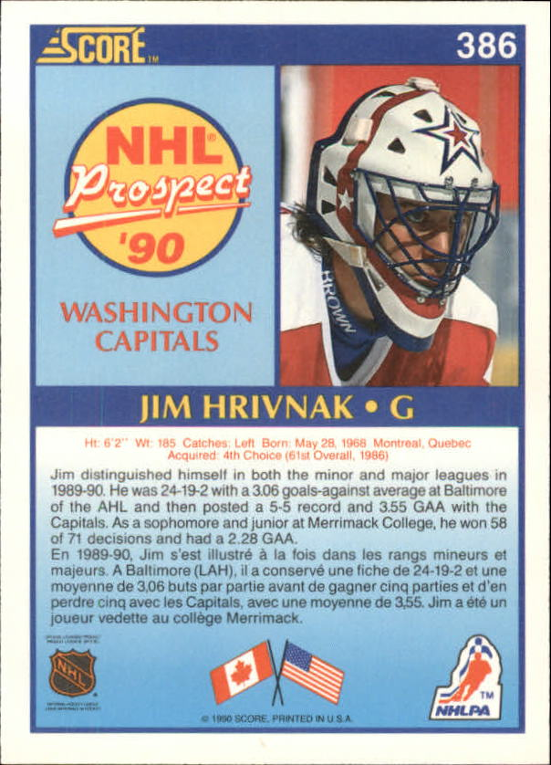 1990-91-Score-Canadian-Hockey-Cards-263-440-Pick-From-List miniature 239