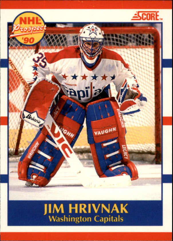 1990-91 Score Canadian #386 Jim Hrivnak RC