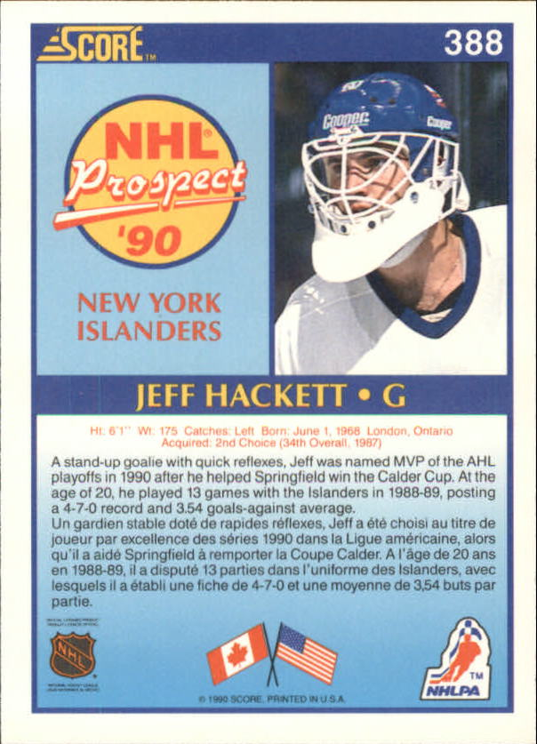 1990-91-Score-Canadian-Hockey-Cards-263-440-Pick-From-List miniature 243