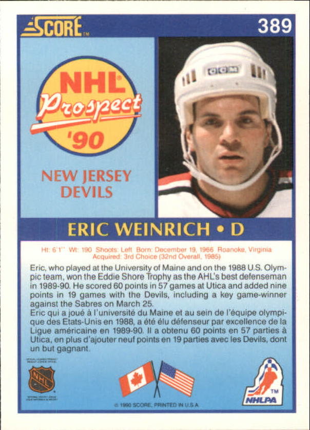 1990-91-Score-Canadian-Hockey-Cards-263-440-Pick-From-List miniature 245