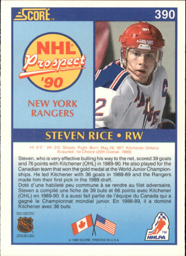 1990-91-Score-Canadian-Hockey-Cards-263-440-Pick-From-List miniature 247