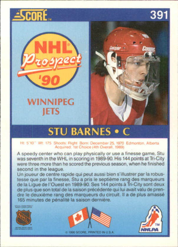 1990-91-Score-Canadian-Hockey-Cards-263-440-Pick-From-List miniature 249