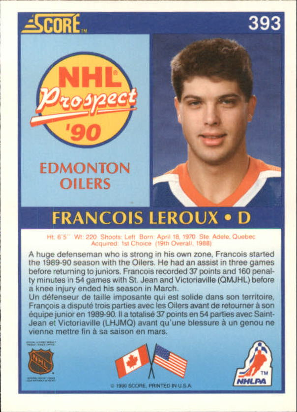 1990-91-Score-Canadian-Hockey-Cards-263-440-Pick-From-List miniature 251