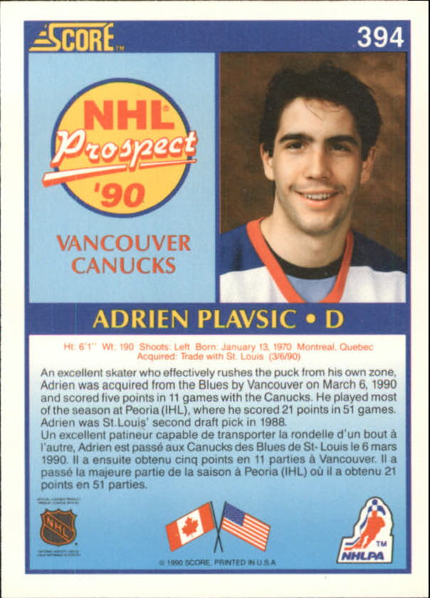 1990-91-Score-Canadian-Hockey-Cards-263-440-Pick-From-List miniature 253