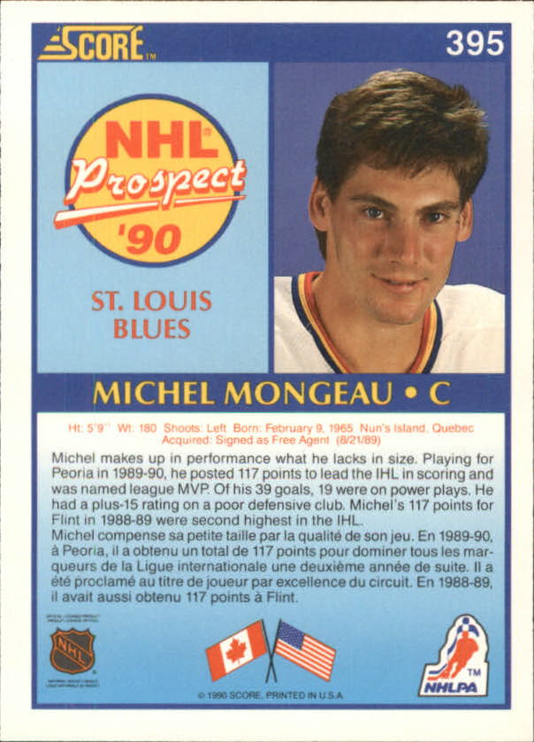 1990-91-Score-Canadian-Hockey-Cards-263-440-Pick-From-List miniature 255