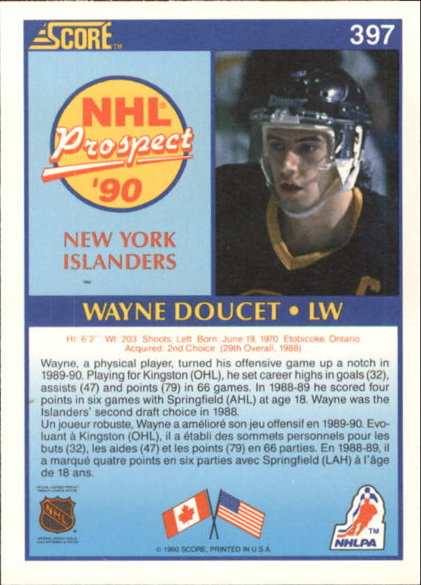 1990-91-Score-Canadian-Hockey-Cards-263-440-Pick-From-List miniature 259