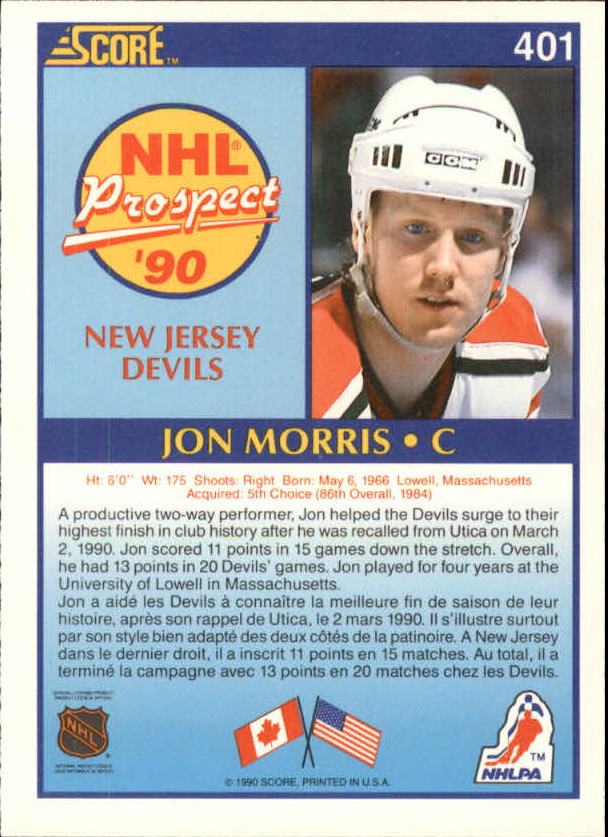 1990-91-Score-Canadian-Hockey-Cards-263-440-Pick-From-List miniature 265