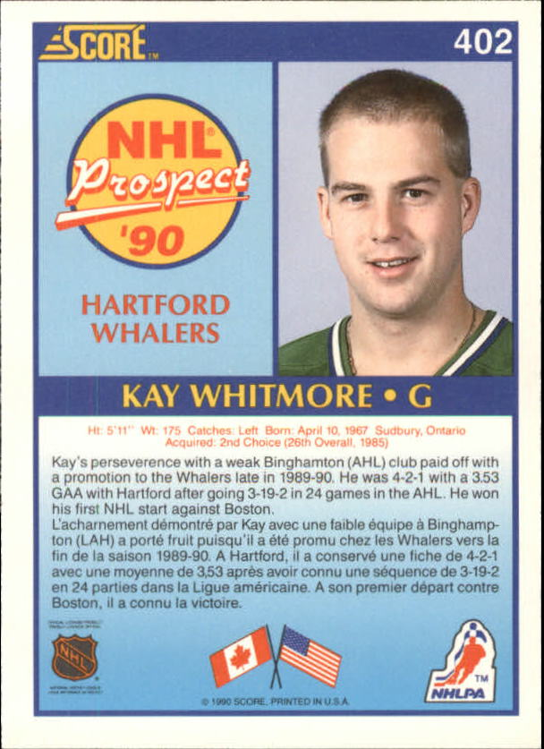 1990-91-Score-Canadian-Hockey-Cards-263-440-Pick-From-List miniature 267