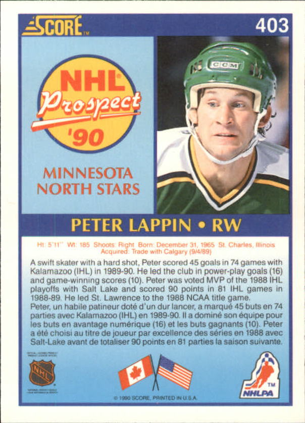 1990-91-Score-Canadian-Hockey-Cards-263-440-Pick-From-List miniature 269