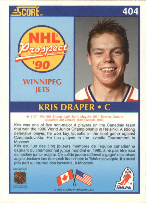 1990-91-Score-Canadian-Hockey-Cards-263-440-Pick-From-List miniature 271