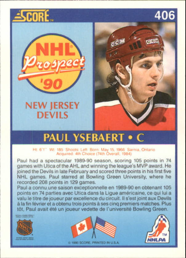 1990-91-Score-Canadian-Hockey-Cards-263-440-Pick-From-List miniature 275