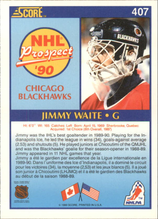 1990-91-Score-Canadian-Hockey-Cards-263-440-Pick-From-List miniature 277