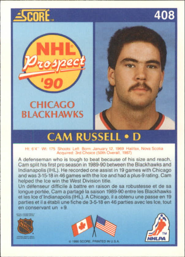 1990-91-Score-Canadian-Hockey-Cards-263-440-Pick-From-List miniature 280