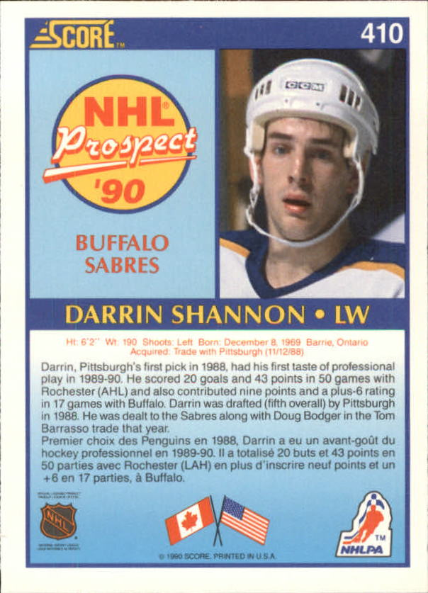 1990-91-Score-Canadian-Hockey-Cards-263-440-Pick-From-List miniature 284