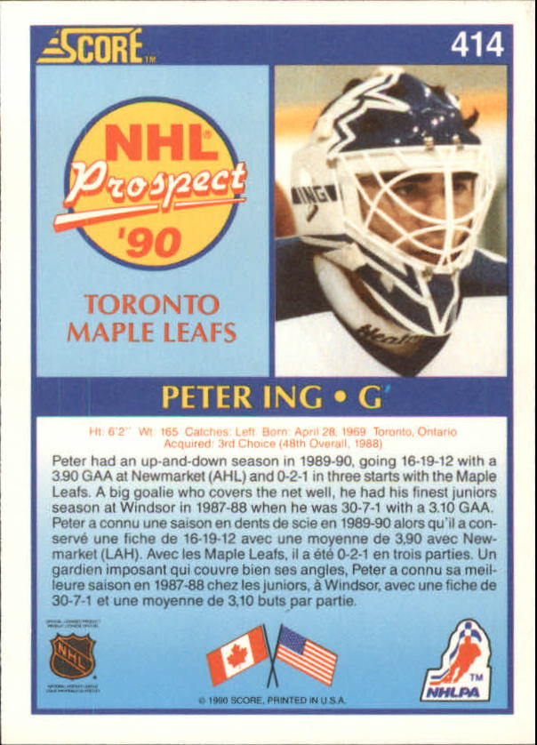 1990-91-Score-Canadian-Hockey-Cards-263-440-Pick-From-List miniature 292