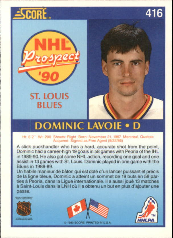 1990-91-Score-Canadian-Hockey-Cards-263-440-Pick-From-List miniature 296