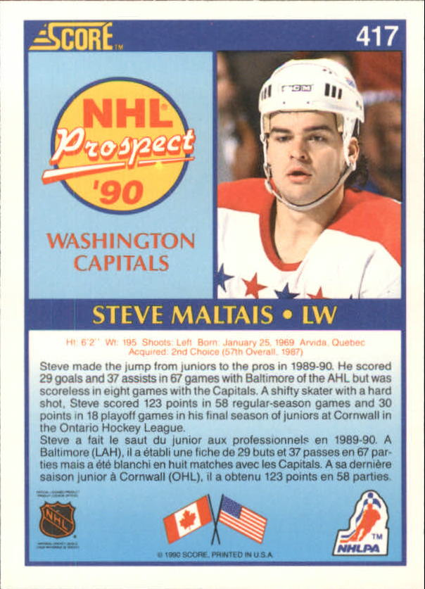 1990-91-Score-Canadian-Hockey-Cards-263-440-Pick-From-List miniature 298