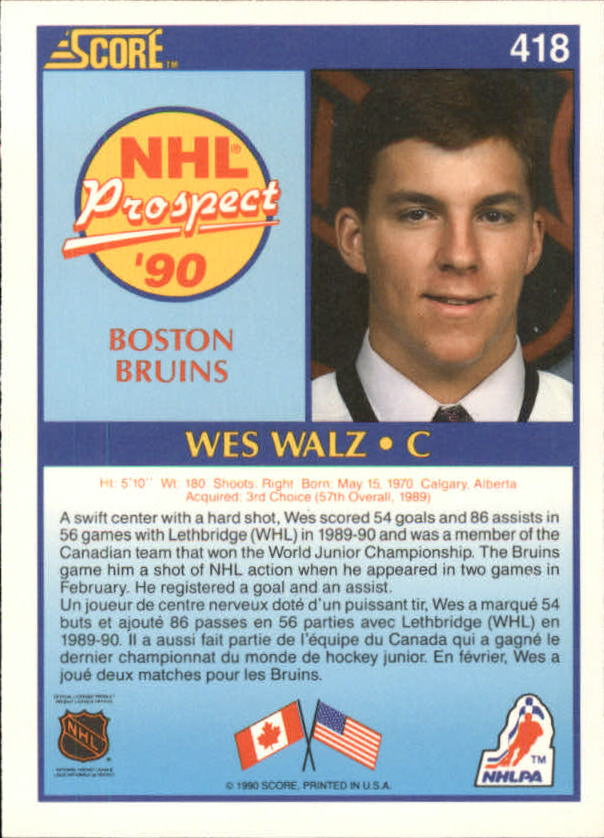 1990-91-Score-Canadian-Hockey-Cards-263-440-Pick-From-List miniature 300