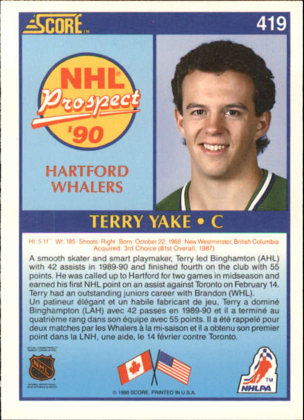 1990-91-Score-Canadian-Hockey-Cards-263-440-Pick-From-List miniature 302