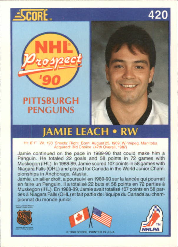 1990-91-Score-Canadian-Hockey-Cards-263-440-Pick-From-List miniature 304