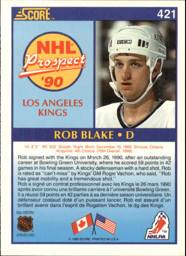 1990-91-Score-Canadian-Hockey-Cards-263-440-Pick-From-List miniature 306