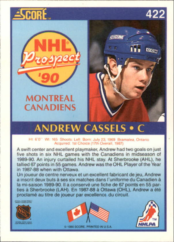 1990-91-Score-Canadian-Hockey-Cards-263-440-Pick-From-List miniature 308