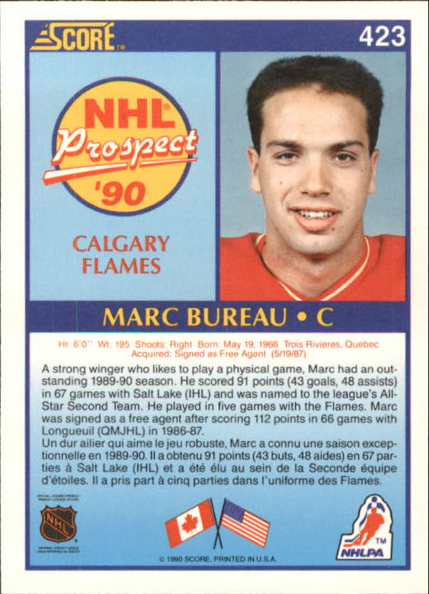 1990-91-Score-Canadian-Hockey-Cards-263-440-Pick-From-List miniature 310