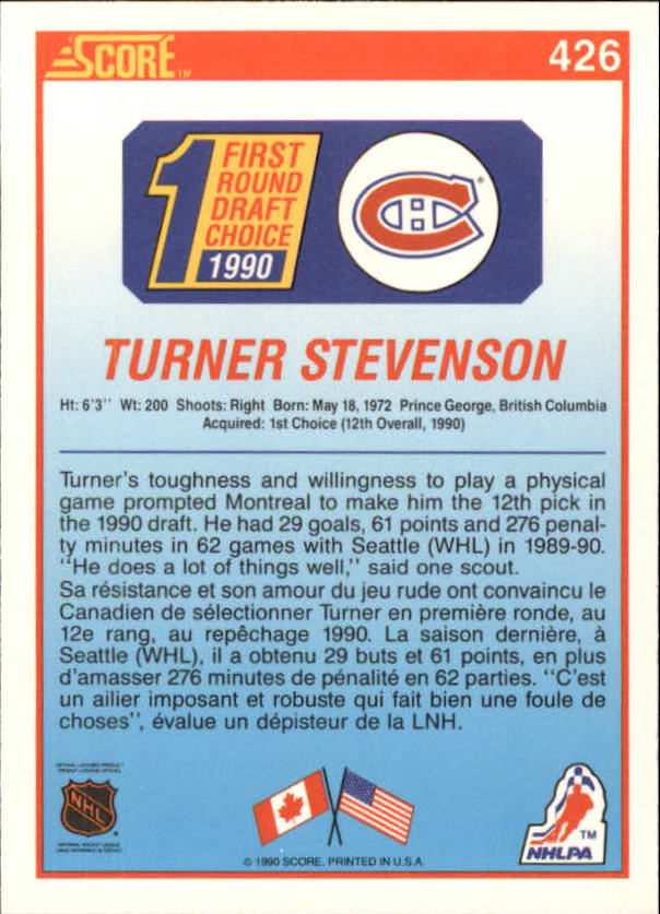 1990-91-Score-Canadian-Hockey-Cards-263-440-Pick-From-List miniature 316