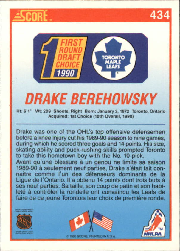 1990-91-Score-Canadian-Hockey-Cards-263-440-Pick-From-List miniature 328