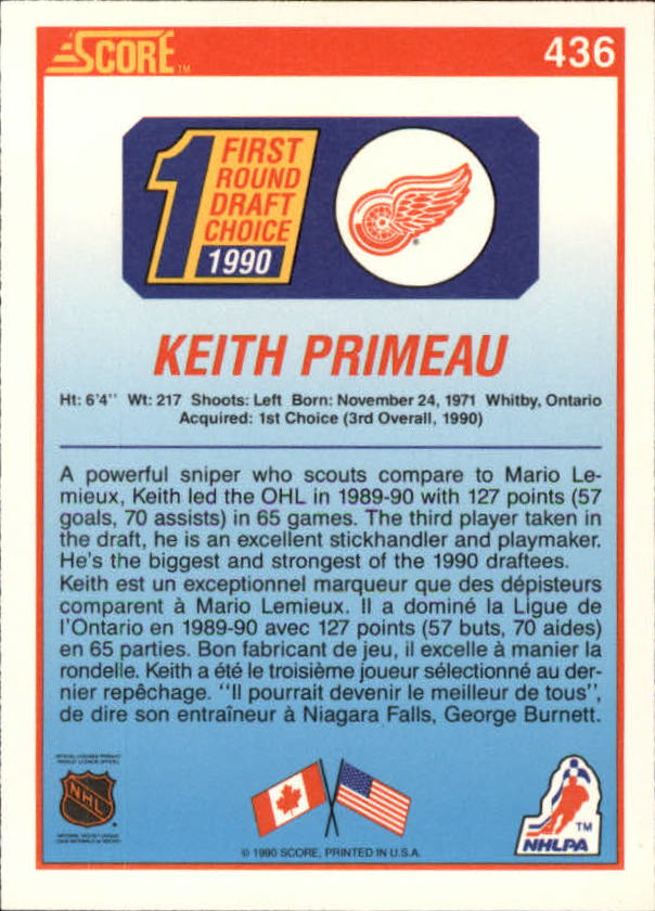 1990-91-Score-Canadian-Hockey-Cards-263-440-Pick-From-List miniature 330