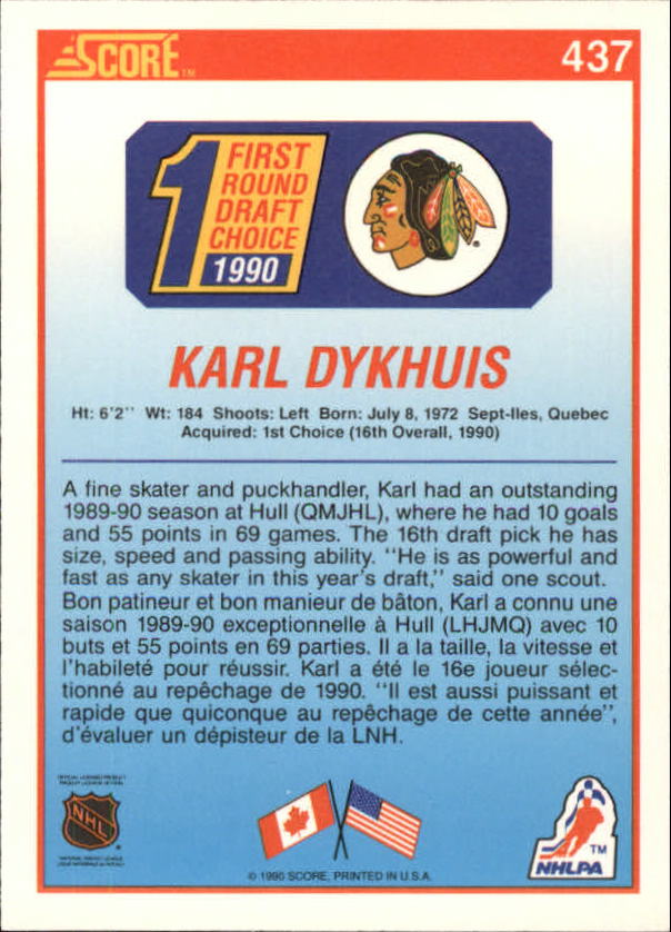 1990-91-Score-Canadian-Hockey-Cards-263-440-Pick-From-List miniature 332