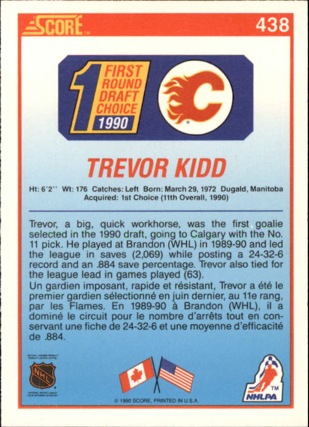 1990-91-Score-Canadian-Hockey-Cards-263-440-Pick-From-List miniature 334