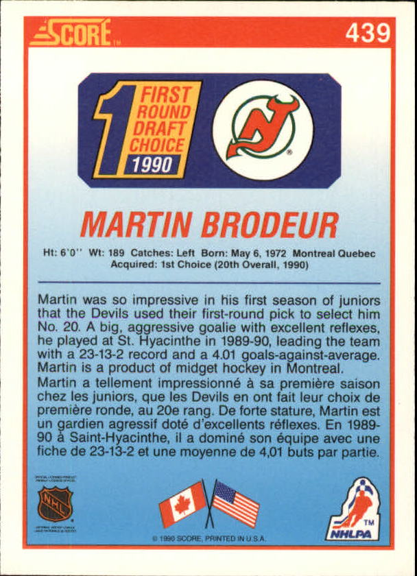 1990-91-Score-Canadian-Hockey-Cards-263-440-Pick-From-List miniature 336