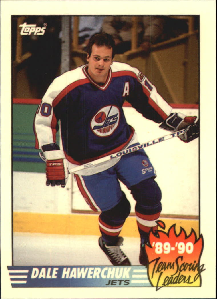 1990-91 Topps Team Scoring Leaders #11 Dale Hawerchuk