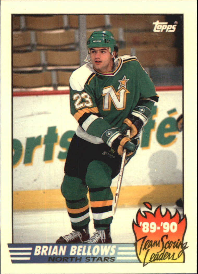 1990-91 Topps Team Scoring Leaders #15 Brian Bellows