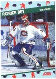 1991 Score National #10 Patrick Roy