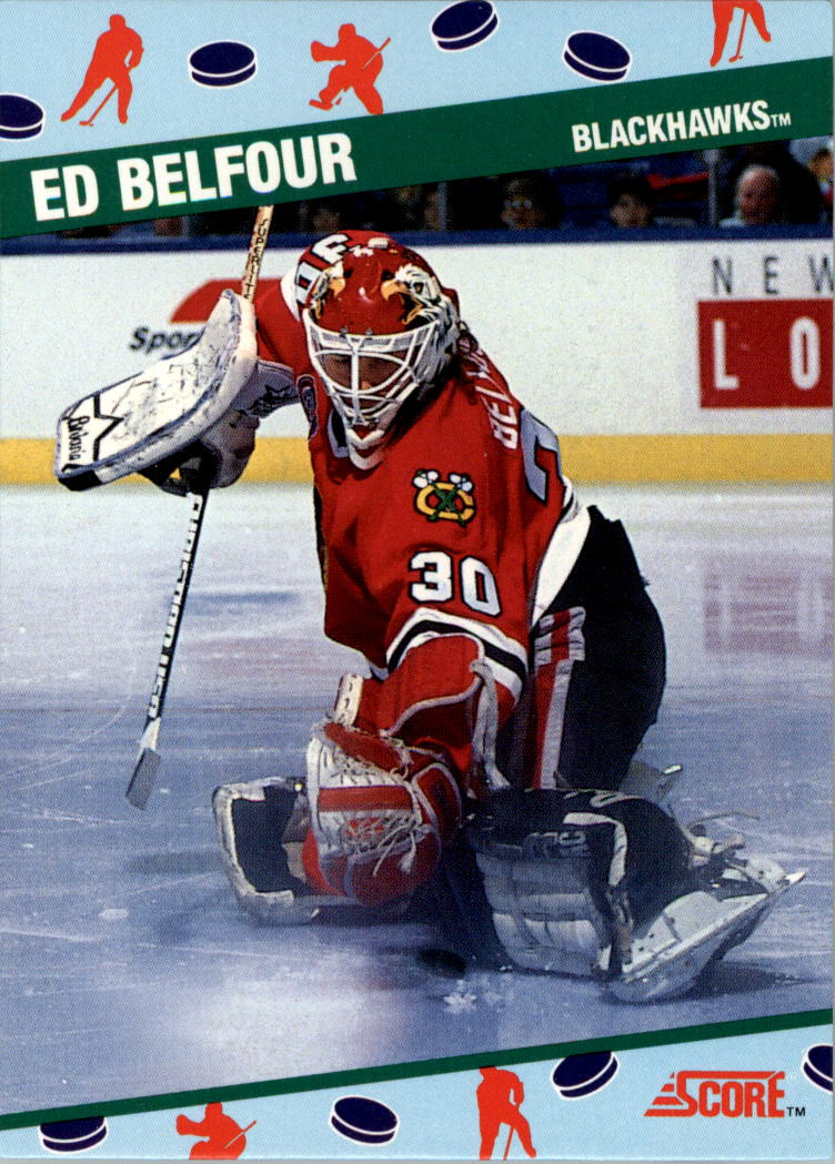 1991 Score NCWA Convention #6 Ed Belfour