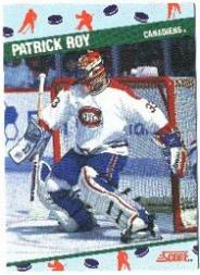 1991 Score National Candy Wholesalers Convention #10 Patrick Roy