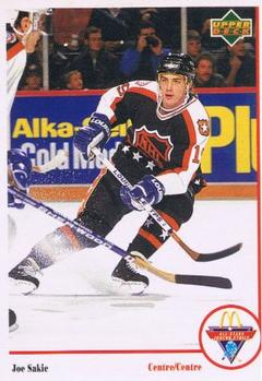 1991-92 McDonald's Upper Deck #5 Joe Sakic
