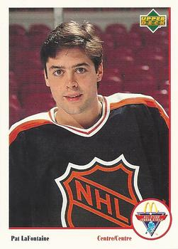 1991-92 McDonald's Upper Deck #6 Pat LaFontaine