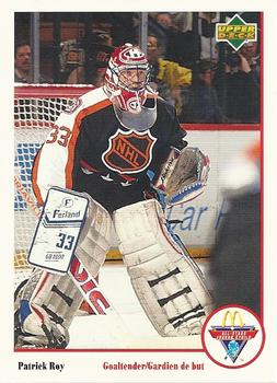 1991-92 McDonald's Upper Deck #8 Patrick Roy