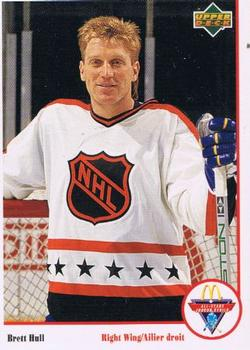 1991-92 McDonald's Upper Deck #13 Brett Hull