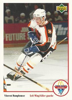 1991-92 McDonald's Upper Deck #16 Vincent Damphousse